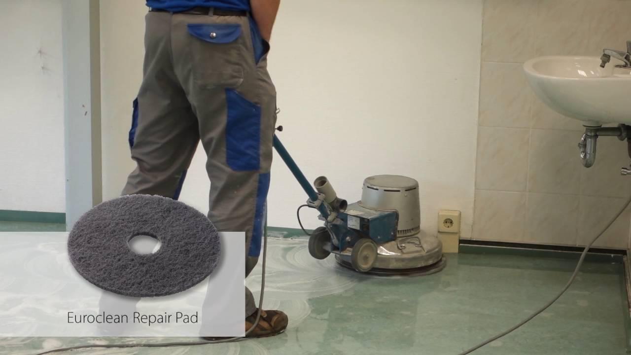 Euroclean Repair Pad, grey